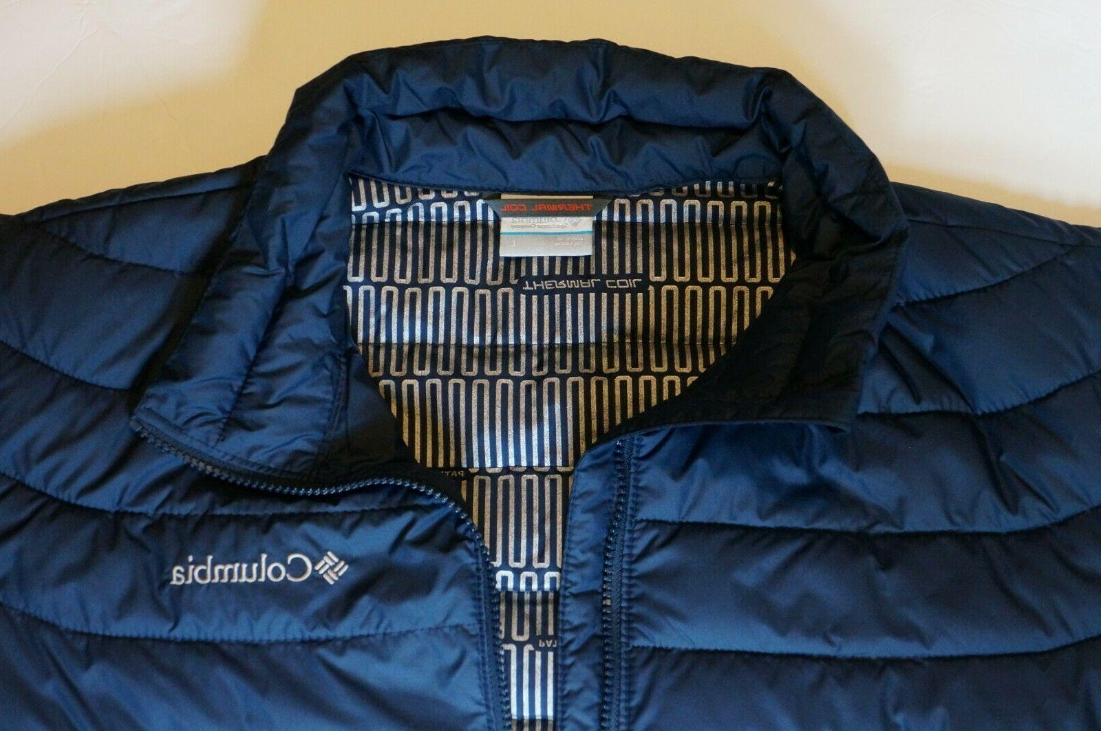 NWT OYANTA TRAIL JACKET INSULATED THERMA-COIL COAT SIZE