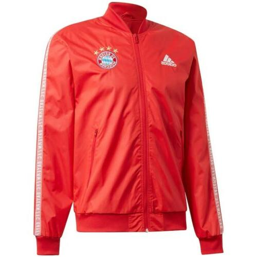 NWT'S Men's Adidas FC Jacket Red 🔥🔥