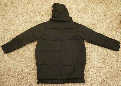 NWT WOMEN'S THICKENED DOWN Size XXL Hooded