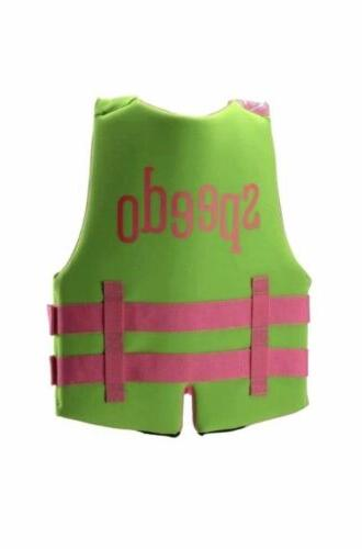 NWT! Youth Pink/Green Life Vest Preserver 50-90