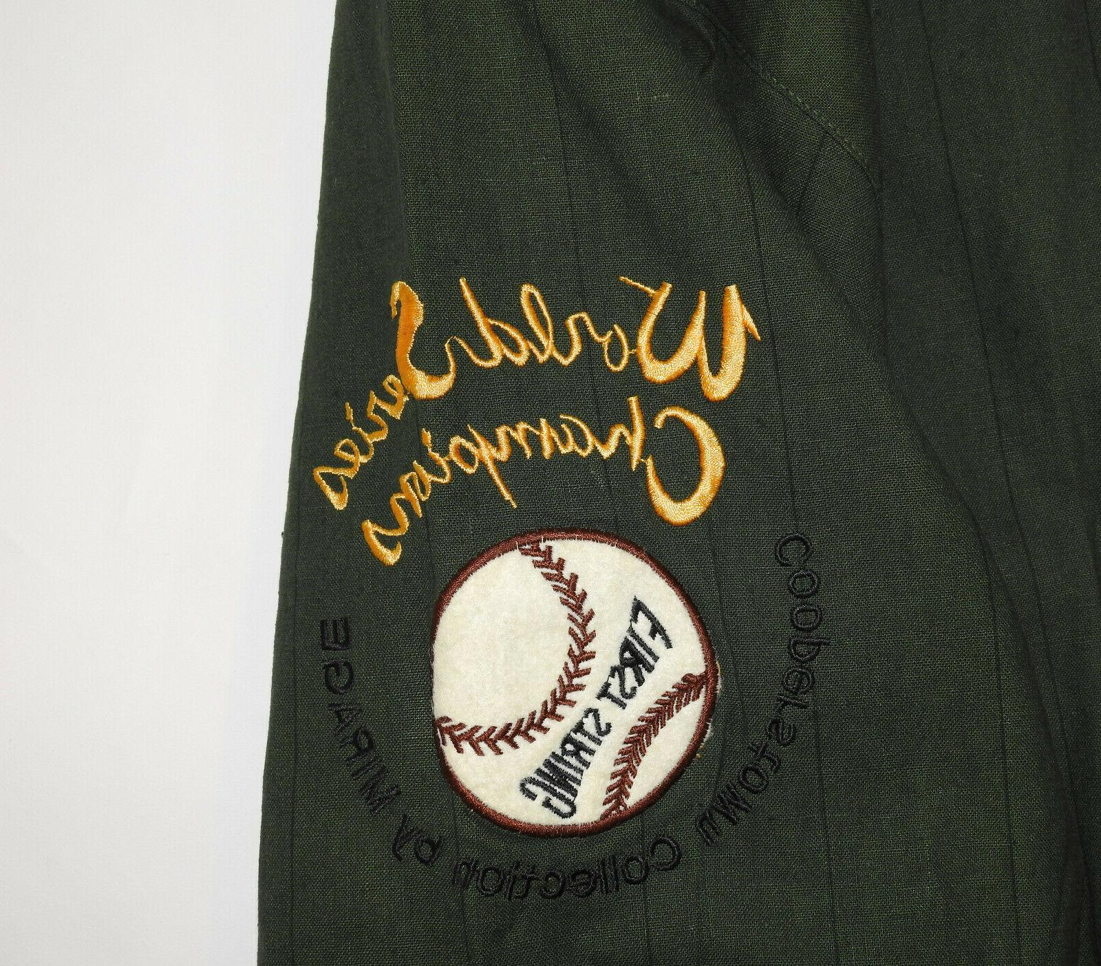 Oakland As Vintage 72', 73',74' Commemorative Jacket