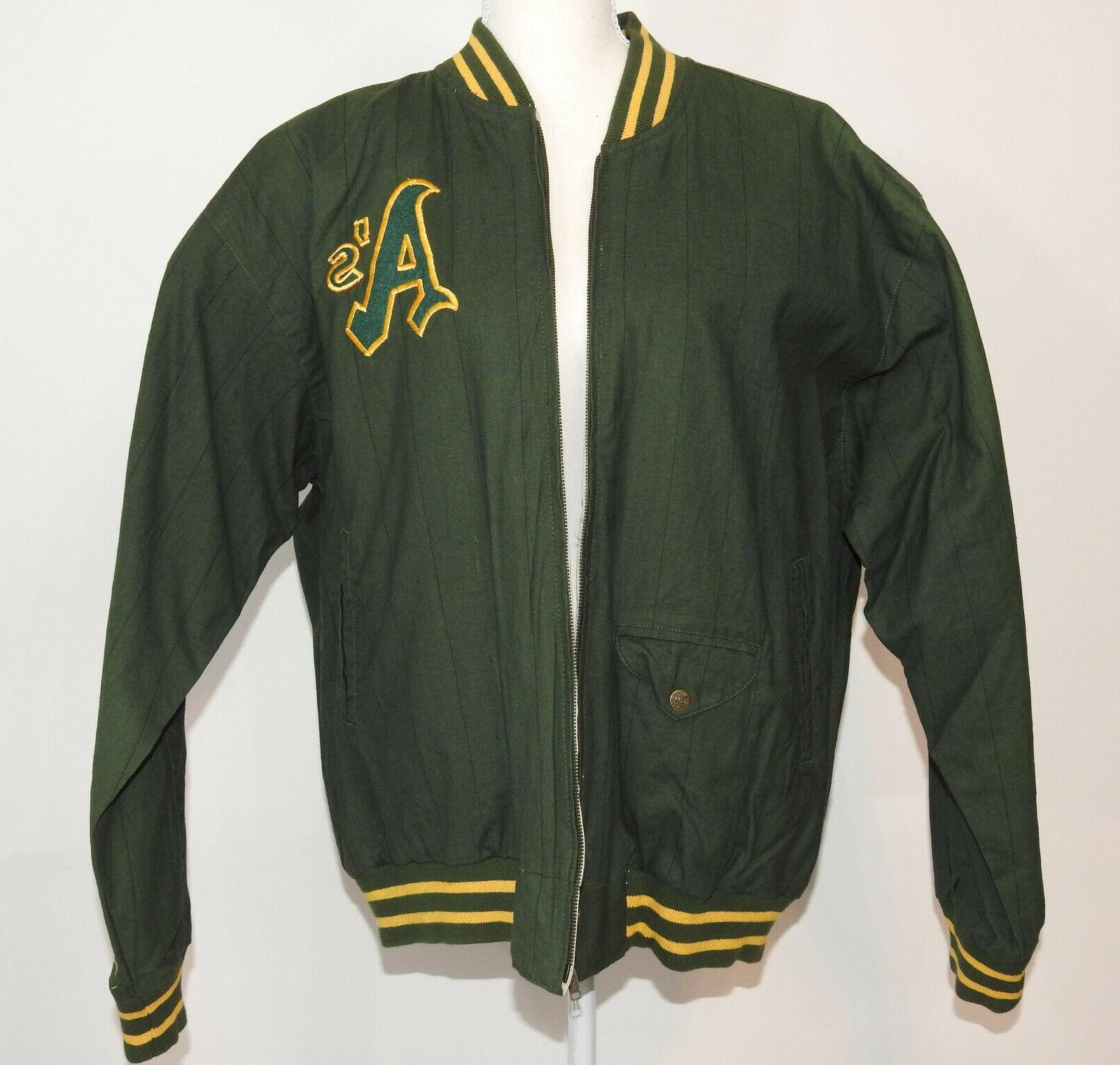 Oakland As Vintage 72', 73',74' Series Commemorative Jacket