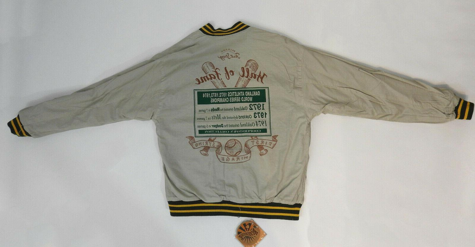 Oakland 72', Commemorative Jacket