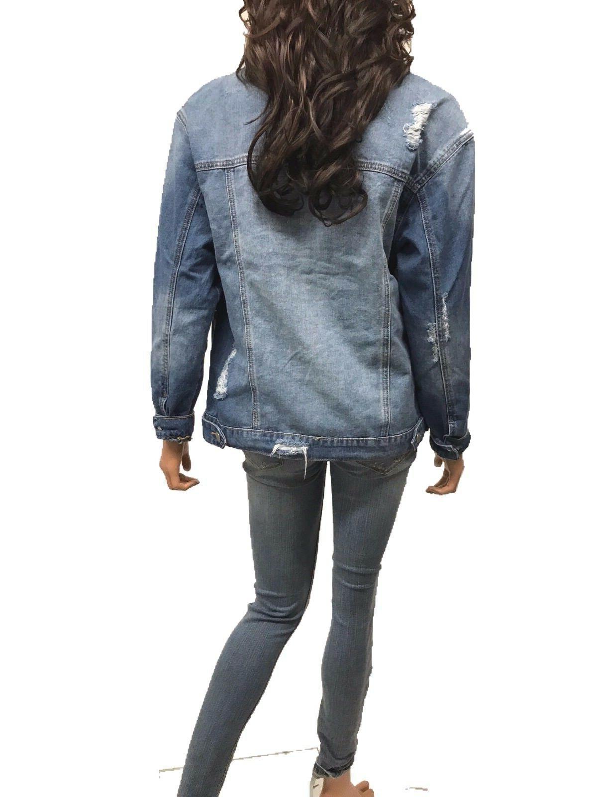 Women's Long Sleeve Loose Fit Jacket