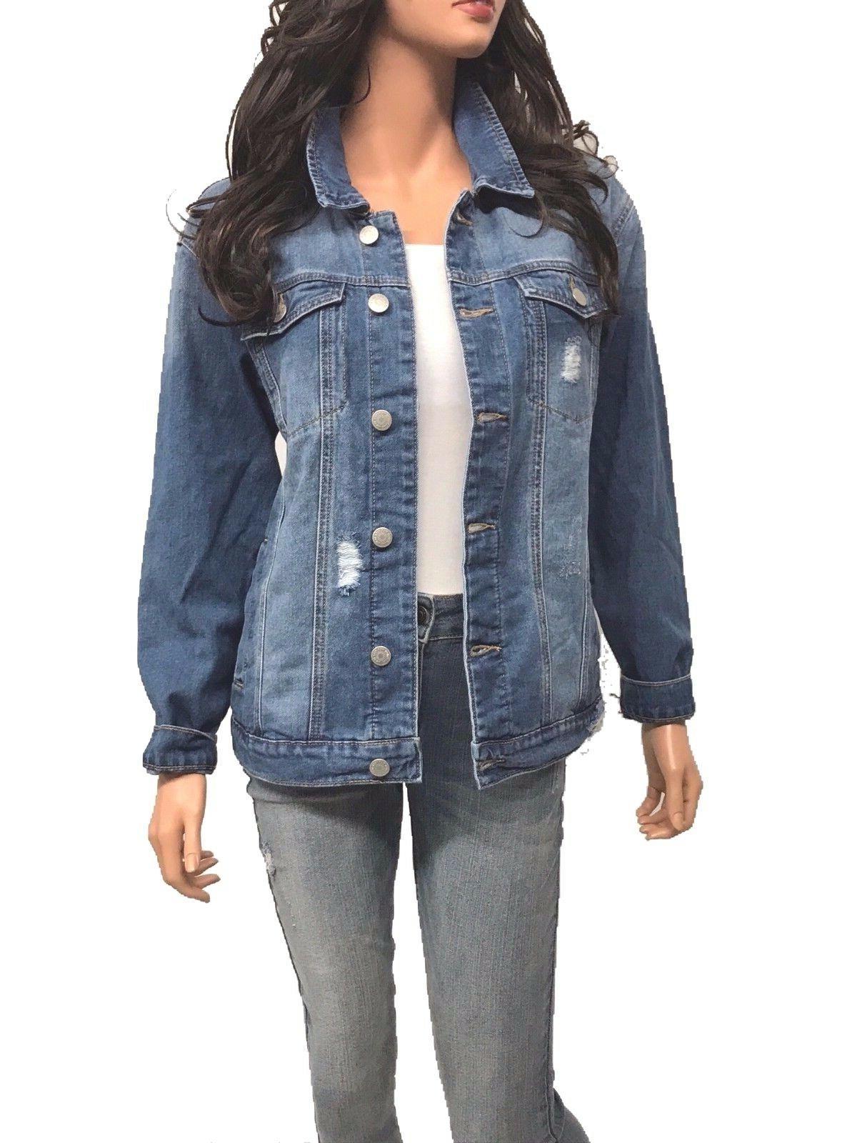 Women's Causal Loose Denim Jacket
