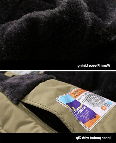 Outdoor Men's Jacket Winter Snow Thermal
