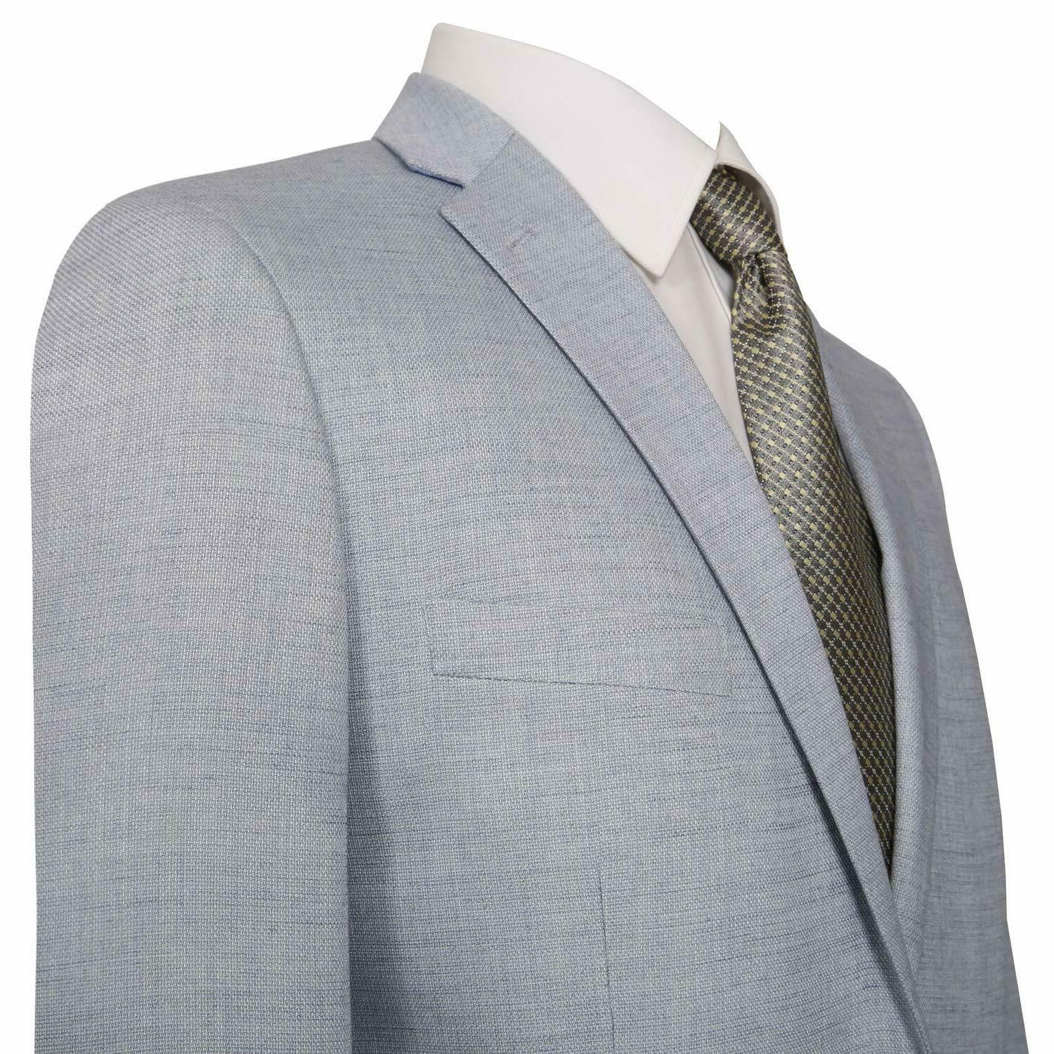 P&L Men's Two-Button Suit Jacket