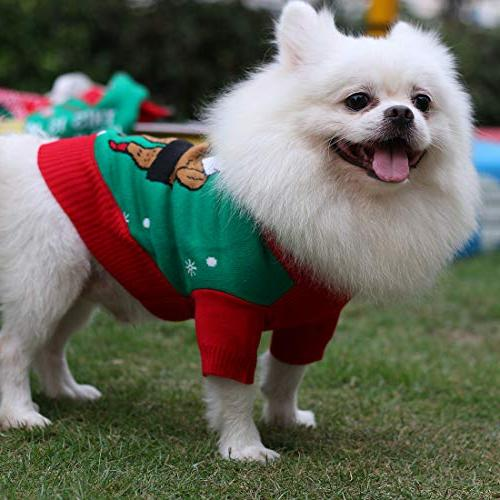 "Uideazone Pet Love - Christmas Sweatshirt Sweater, 20"", of Clothes"