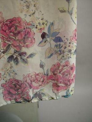 Plus Japanese Floral Long Sheer Robe 1XL 2XL 3XL