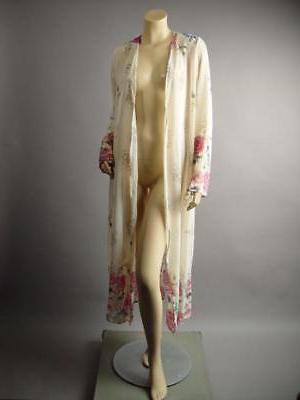 Plus Long Sheer Robe 242 mv 1XL 2XL