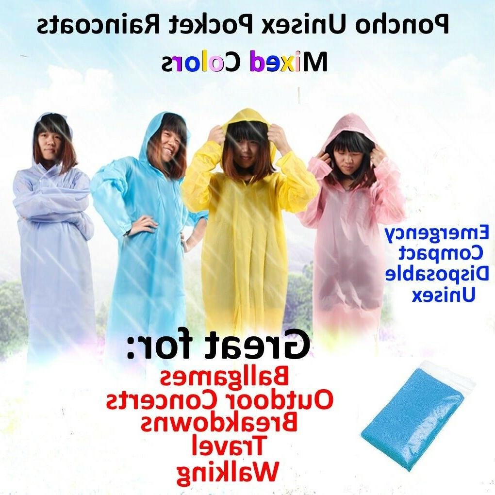rain coat hooded poncho disposable waterproof jacket