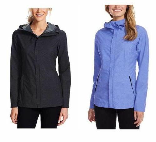 32 Degrees Cool Women/'s Waterproof Rain Jacket Black S