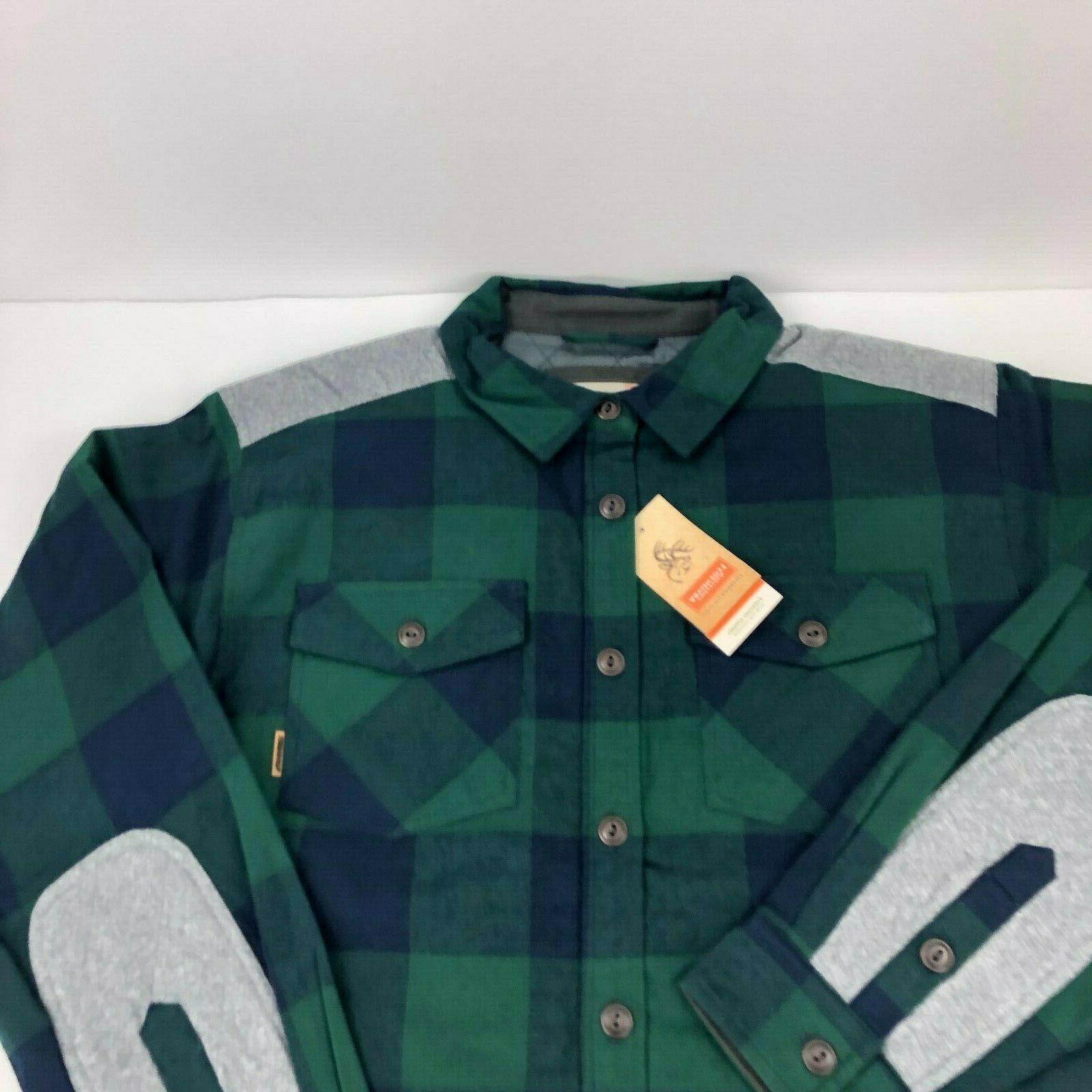 Legendary Whitetails Quilted Jacket Plaid