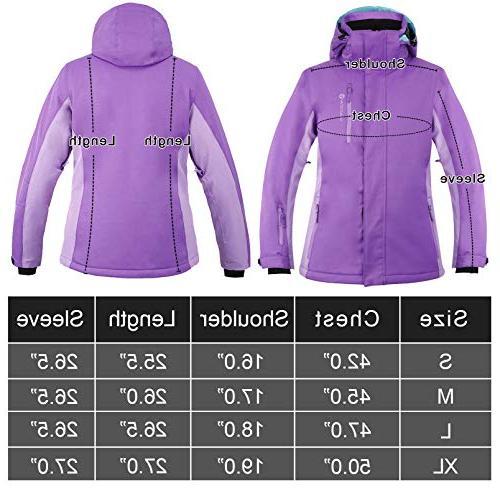 Andorra Ski Women's Waterproof Outdoor Jacket,Plum