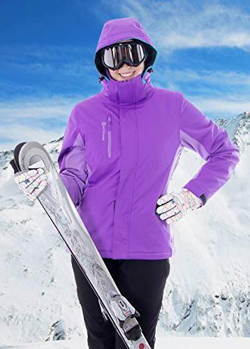 Andorra Ski Waterproof Mountain Jacket,Plum