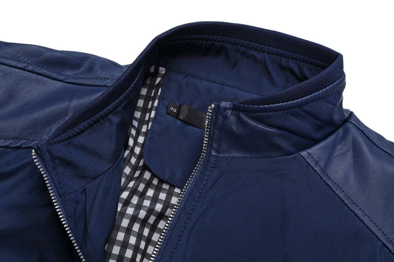Springrain Collar Bomber Jacket