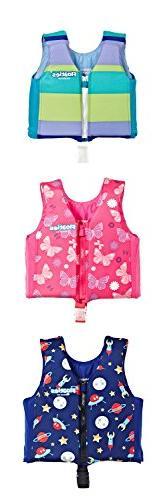 KidsSwim Vest Pool Floats - Swimming Floatation Vest for T