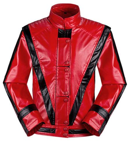 Michael Jackson Coats It Red Kids
