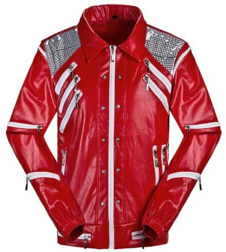 thriller jacket coats beat it red jackets