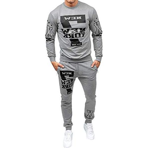 tracksuit mens autumn winter printed