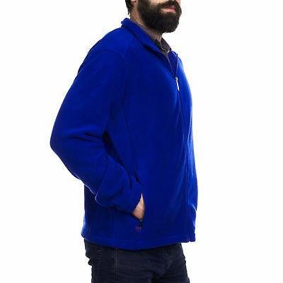 Alpine Full Zip Jacket Soft Casual Warm Zipper Coat