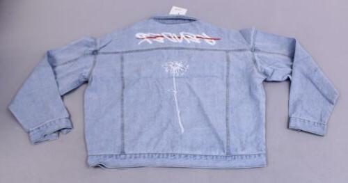 Boohoo Pride End Gender Oversized Jacket CK6 Size