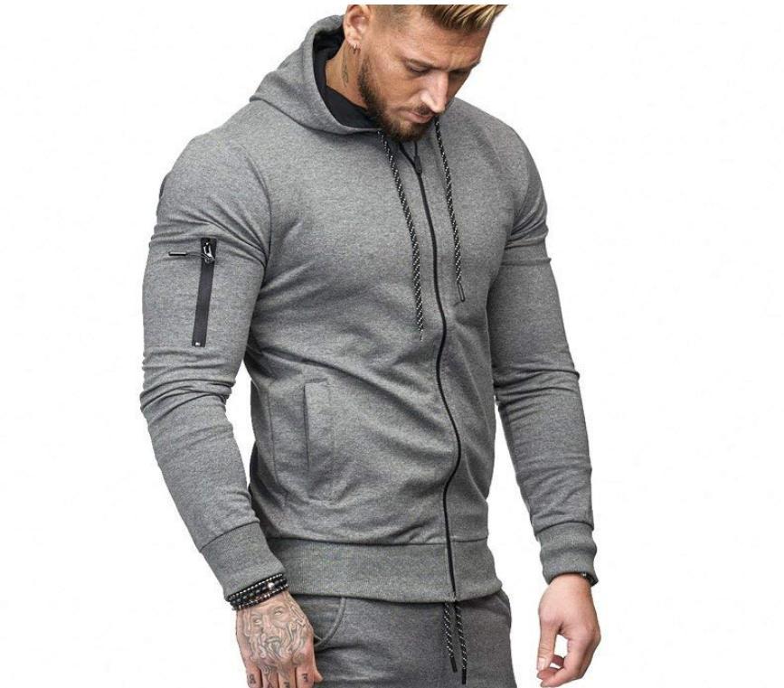 US Coat Jacket Sweater Fit Zipper Pullover Tops