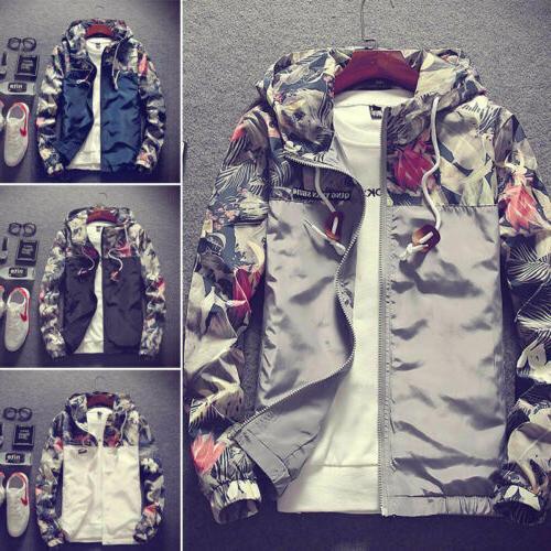 US Camo Thin Jacket Casual Coat Fashion