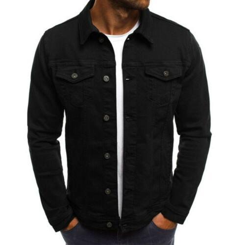 US Denim Long Sleeve Outwear Tops
