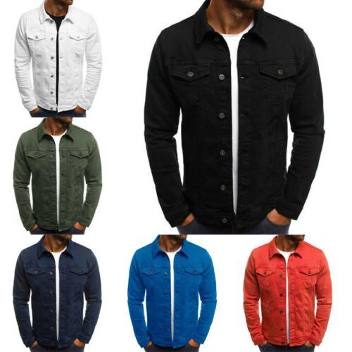 US Jacket Long Sleeve Slim Outwear