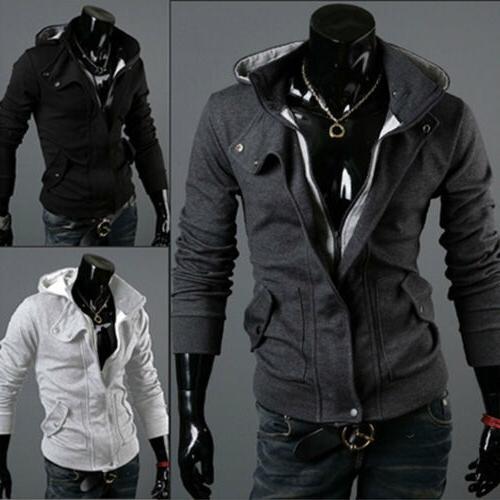 US Slim Hoodie Coat Outwear