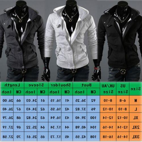 US Winter Hoodie Warm Coat Jacket