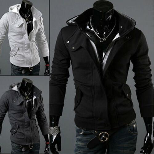 us men s winter slim hoodie warm