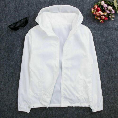 US Waterproof Windbreaker ZIPPER Jacket