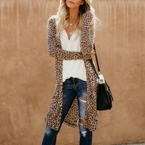 US Women Loose Sleeve Shawl Blouse Jacket