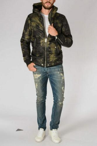 DIESEL Padded Quilted Winter Outwear Coat