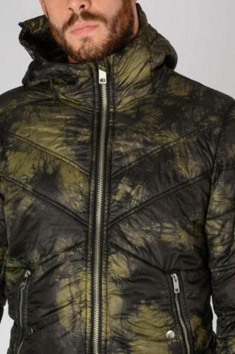 DIESEL W-GENERIC Mens Padded Puffer Quilted Winter Outwear