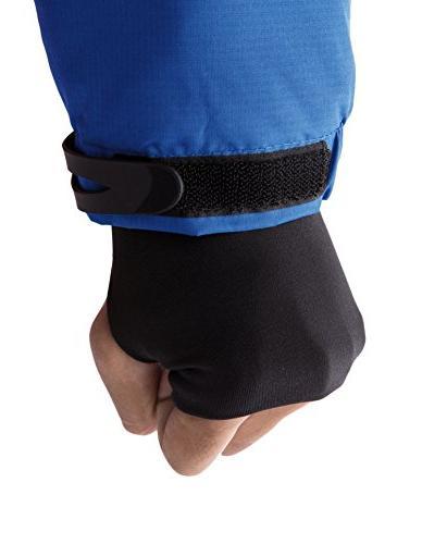 WantDo Men's Waterproof Mountain Jacket Fleece Windproof Jacket