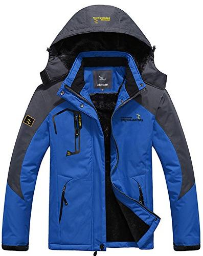 mountain waterproof ski jacket windproof