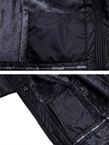 Wantdo Men's Waterproof Mountain Jacket Jacket L