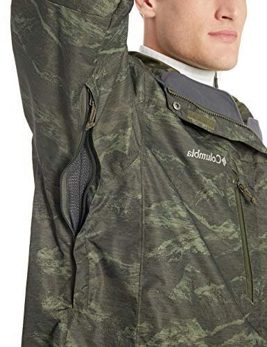 Columbia Whirlibird Iii Interchange Jacket, Peat MTN Jacquard Medium