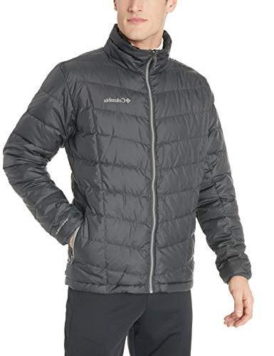 Columbia Men's Whirlibird Interchange Jacket, Moss MTN Jacquard