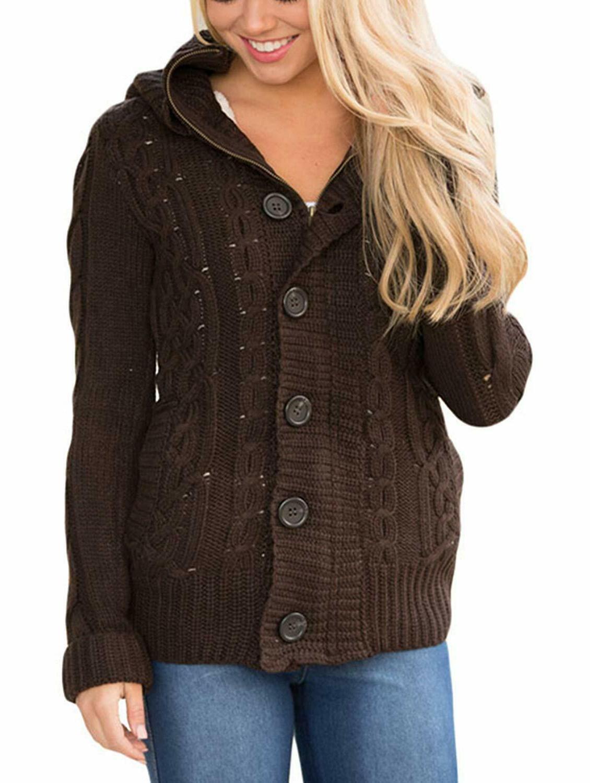 Sidefeel Women Cardigans Sweater Coat