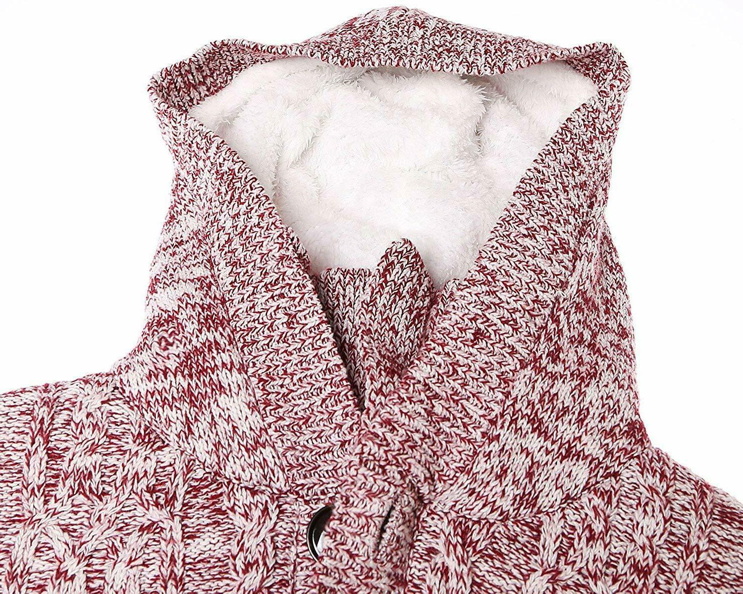 Sidefeel Knit Cardigans Button Coat