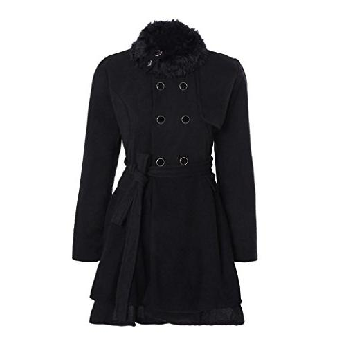 women jacket warm slim coat