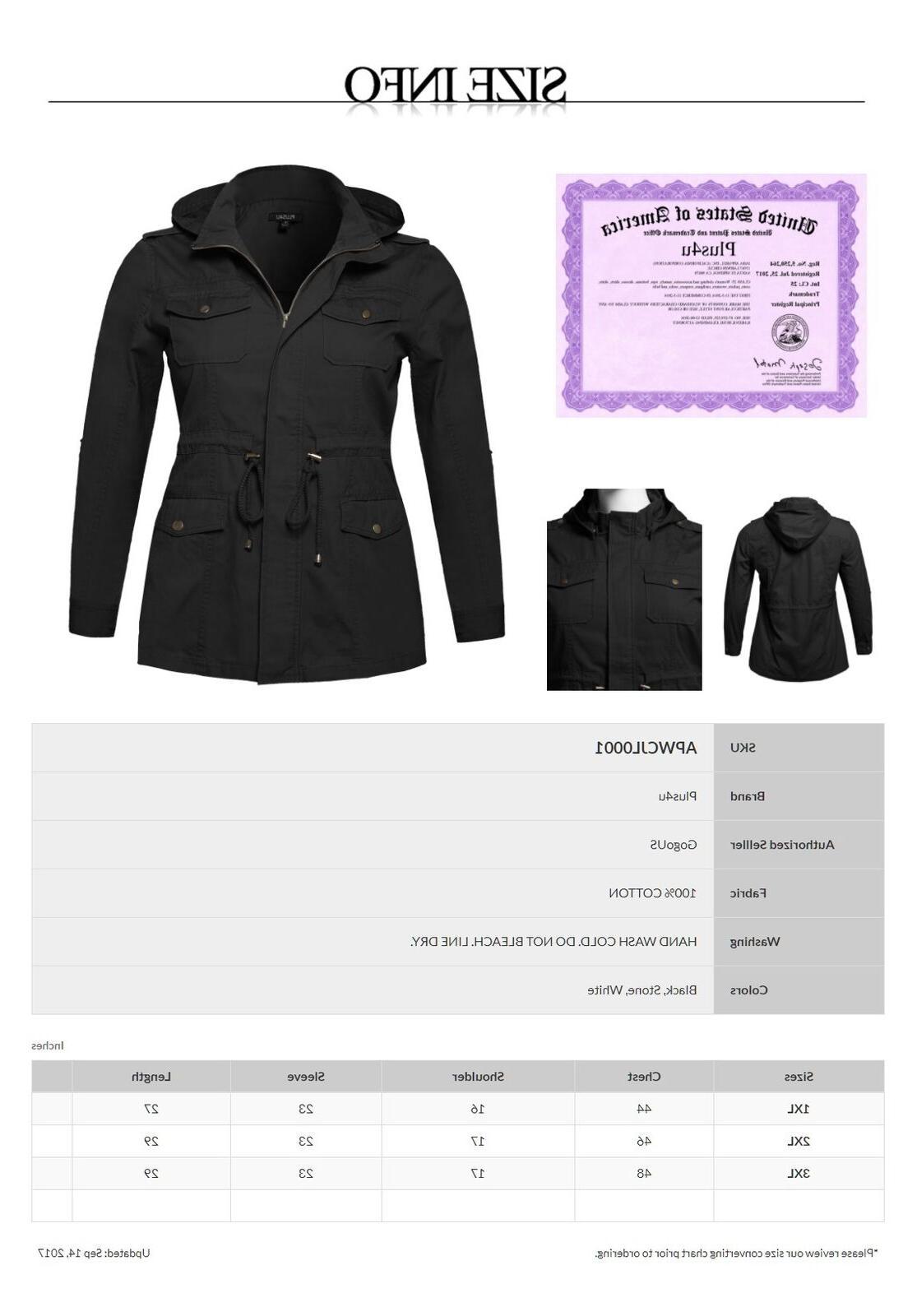 FashionOutfit Casual Adjustable Sleeve Jacket