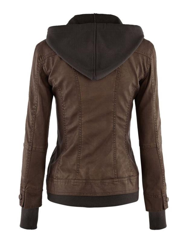 Women's Faux Leather with FREE