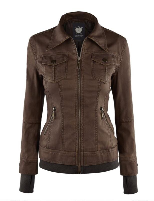 Women's Leather with Hoodie FREE SHIPPING