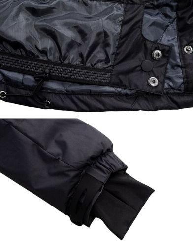 Wantdo Women's Fleece Windproof Ski Black, Medium