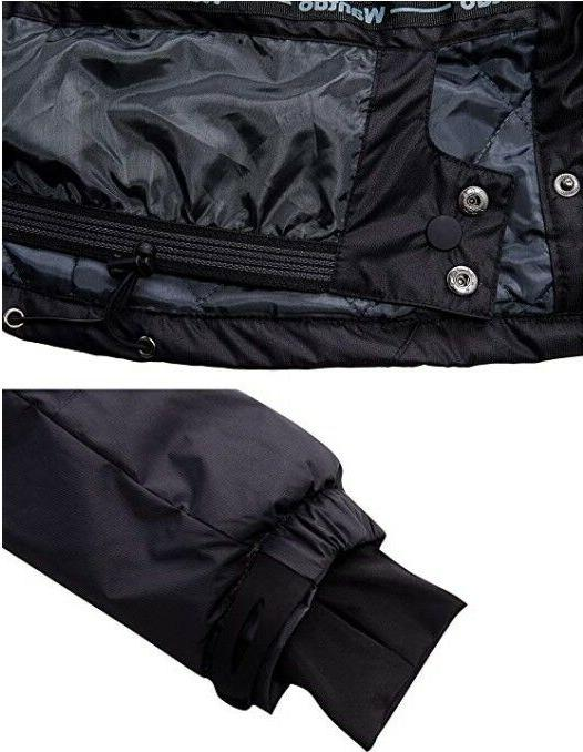 Wantdo Fleece Ski Rain Jacket
